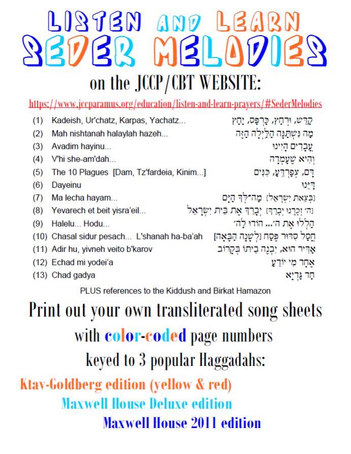 Seder Melodies